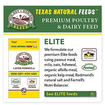 Elite Texas Natural Feeds
